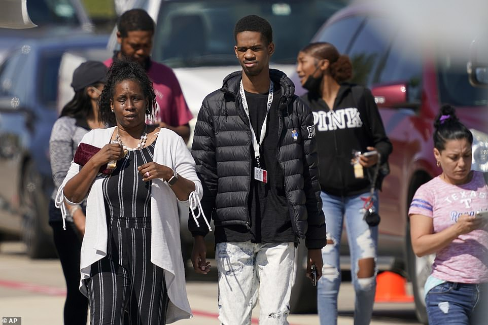 Authorities gave the 'all clear' after the school was placed on lockdown for some two hours on Wednesday morning